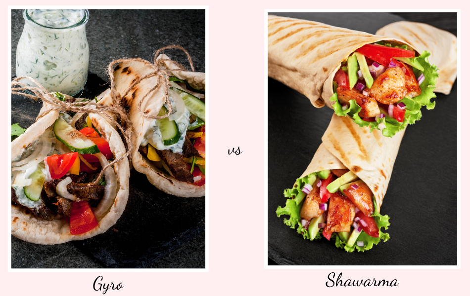 What is the Difference Between Gyro and Shawarma?