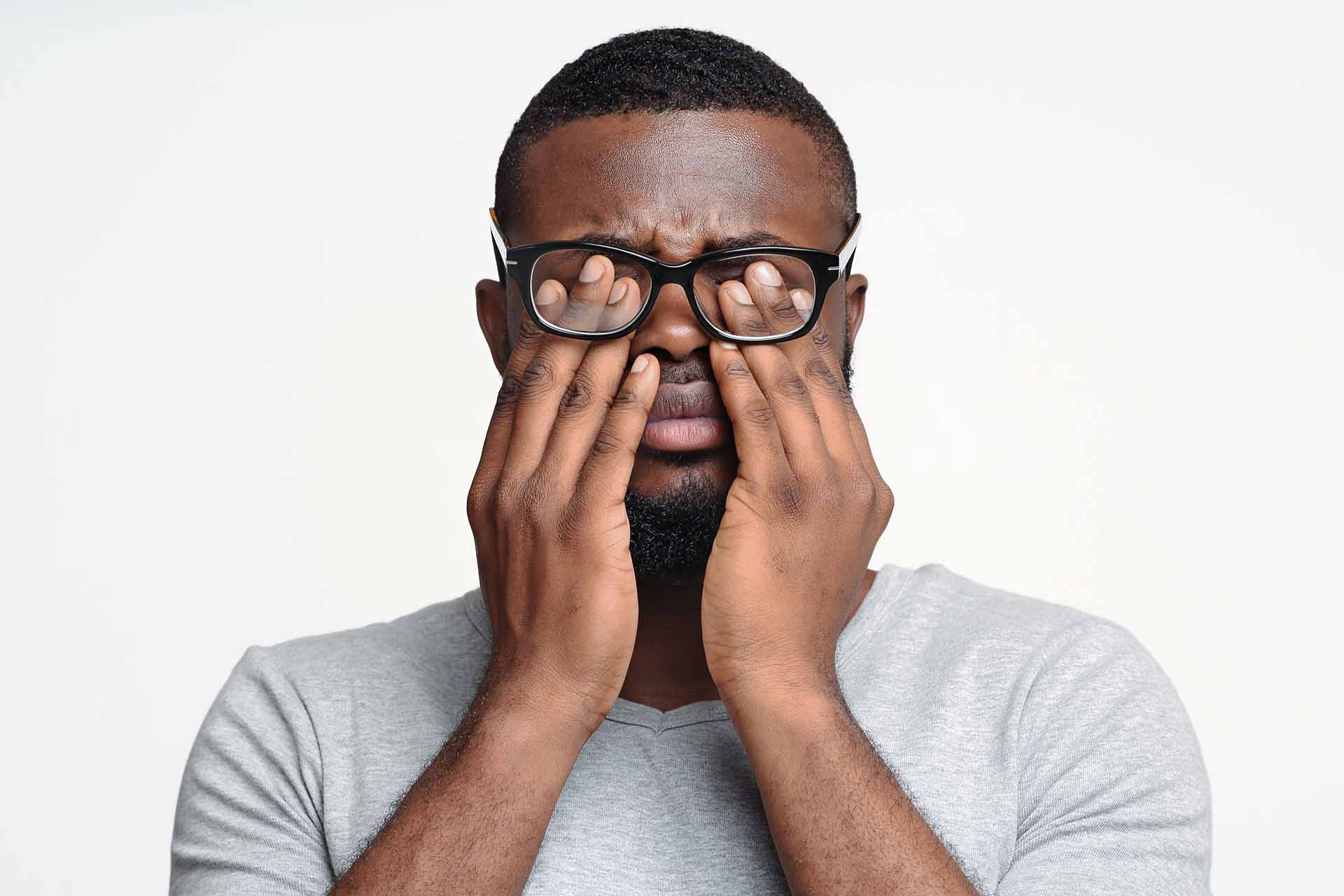 What are the Symptoms of Eye Strain?