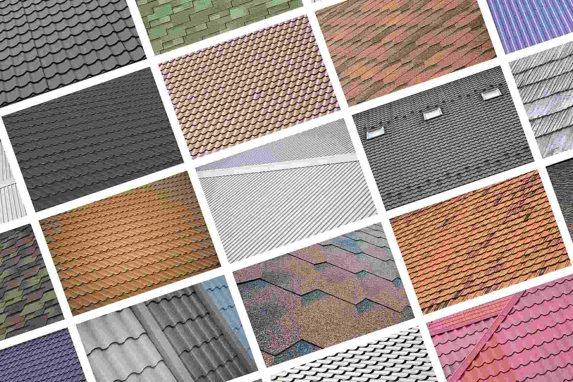 5 common roof types
